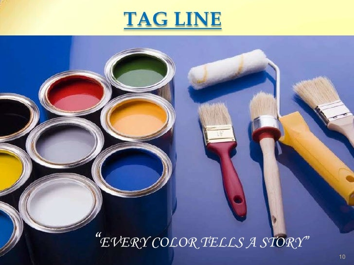 Asian paints tag line